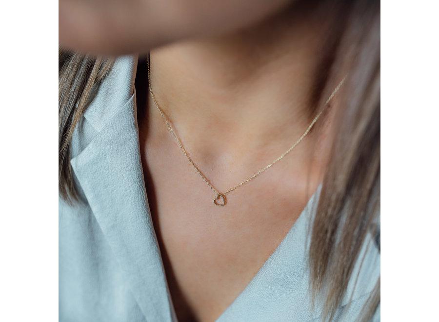 Vintage Necklace Heart