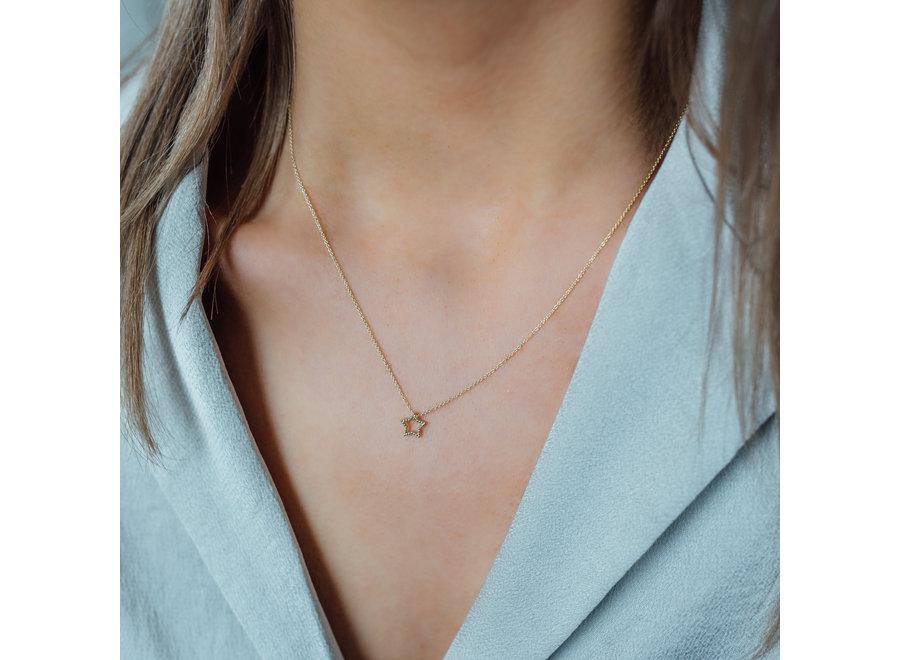 Vintage Necklace Star
