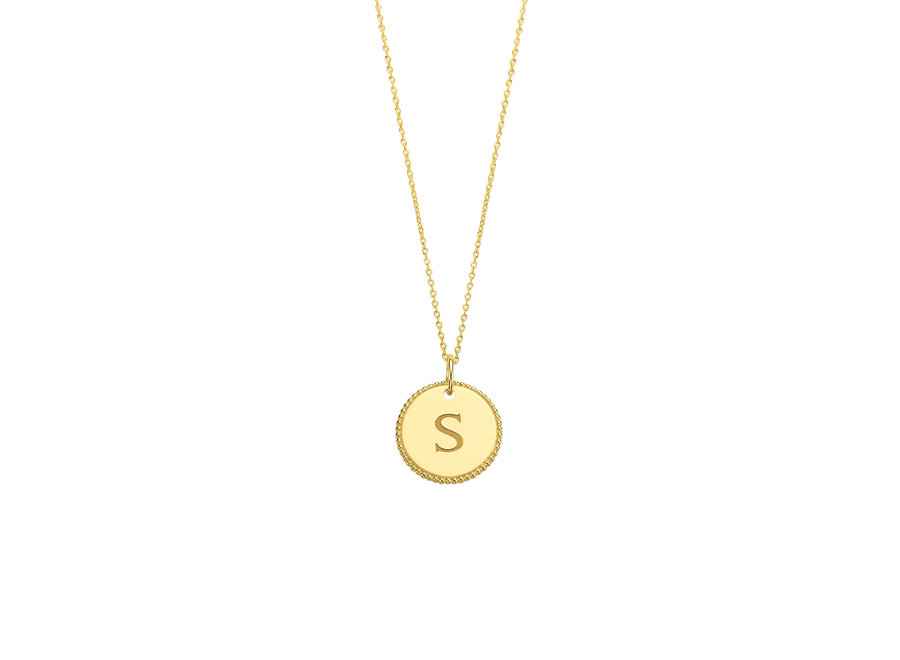 Vintage Necklace Coin Small