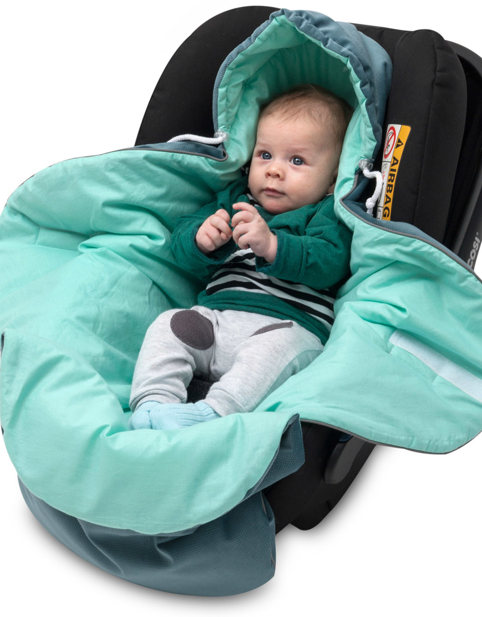 Dekens Autostoeltje - Groen
