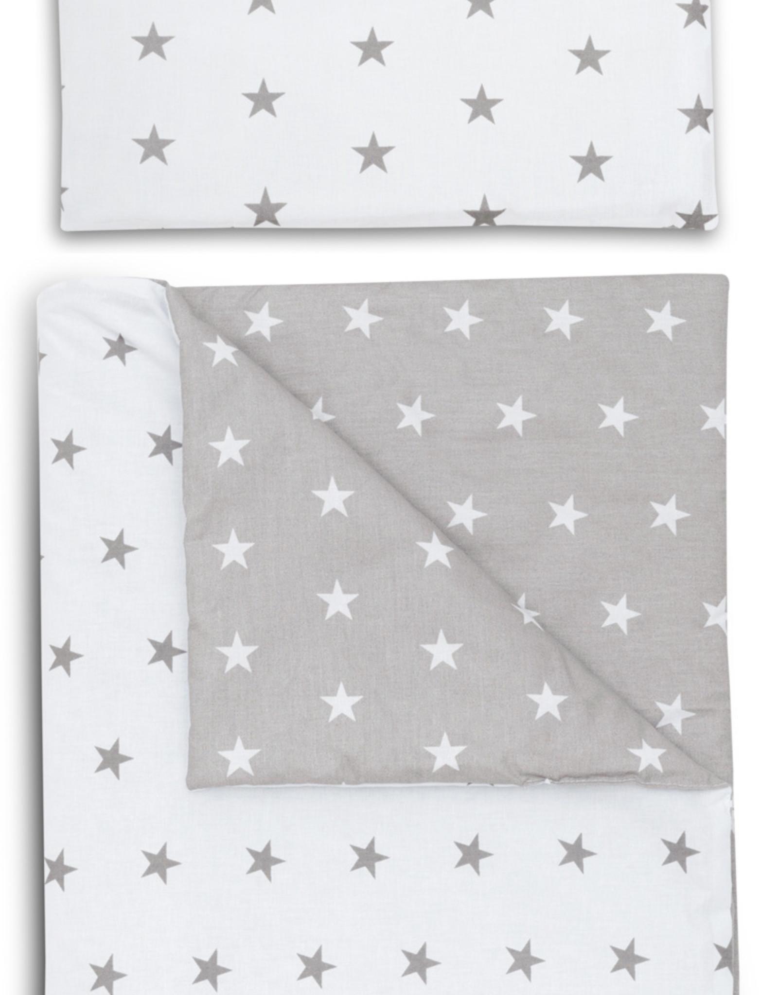 Baby nest set - Grijze sterren
