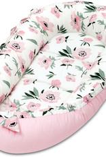 Baby nest - Bloemen Koraal