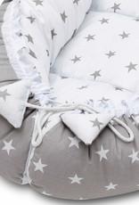 Baby nest - Grijze sterren