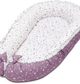 Baby nest - Lila en paarse sterren