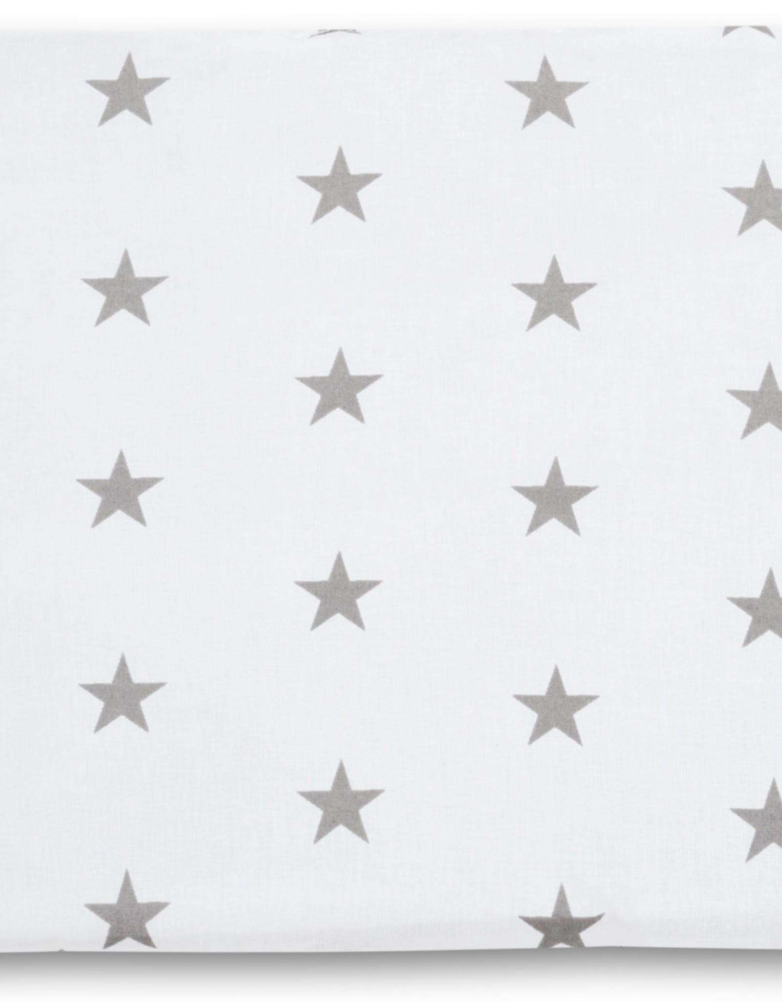 Deken set newborn - Grijze sterren