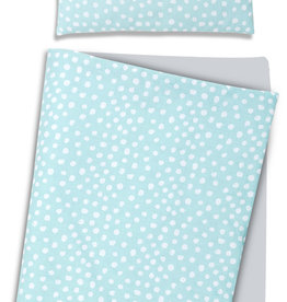 Deken set newborn - Mint stipjes