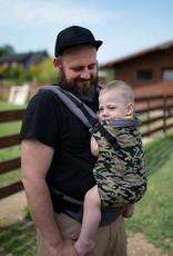 Kinderhop Baby Draagzak basic Army print