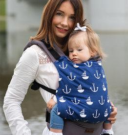 Kinderhop Baby Draagzak basic Marine
