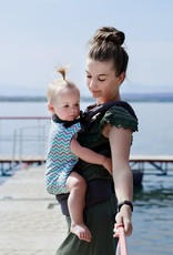 Kinderhop Baby Draagzak basic Turquoise
