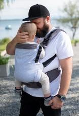 Kinderhop Baby Draagzak Multi Grow Grey Cube