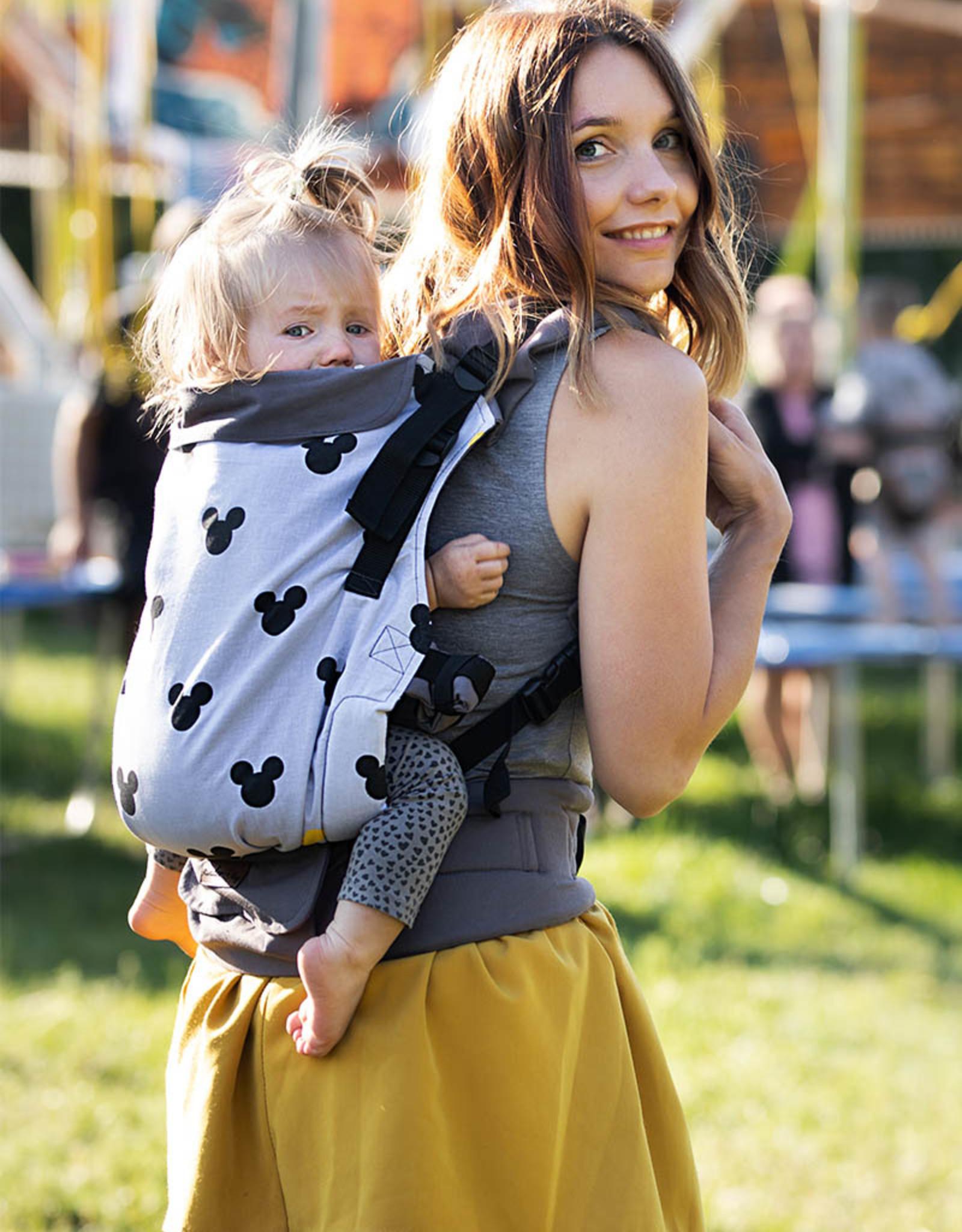 Kinderhop Baby Draagzak Multi Grow  Mickey