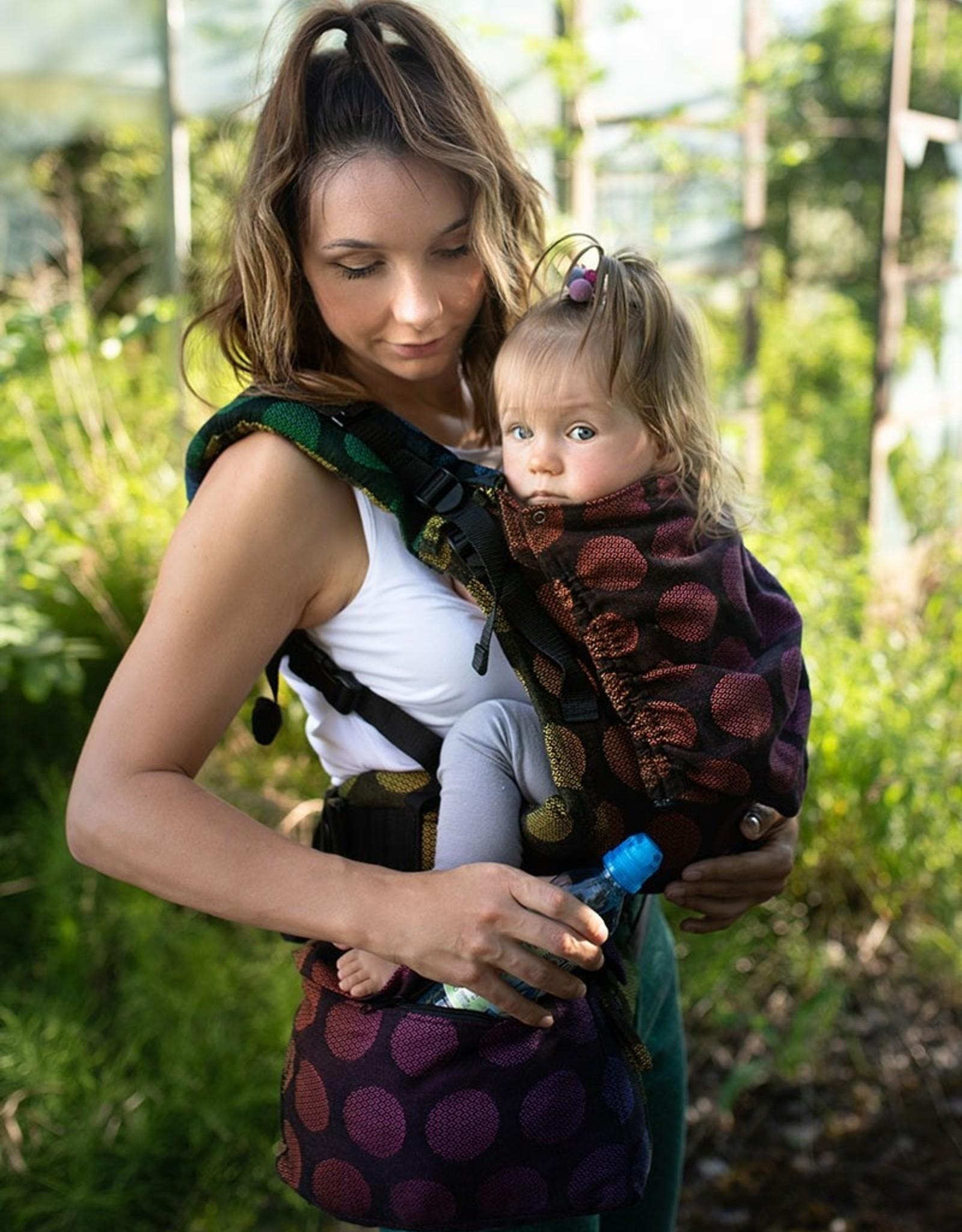Kinderhop Baby Draagzak Multi Grow  Dots Rainbow