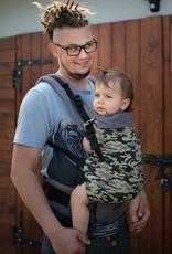 Kinderhop Baby Draagzak Multi Grow  Army