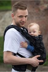 Kinderhop Baby Draagzak Multi Grow  Dots Dark Grey
