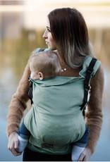 Kinderhop Baby Draagzak Multi Grow  Little Herringbone Turquoise