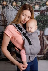 Kinderhop Baby Draagzak Multi Grow  Little Herringbone Grey
