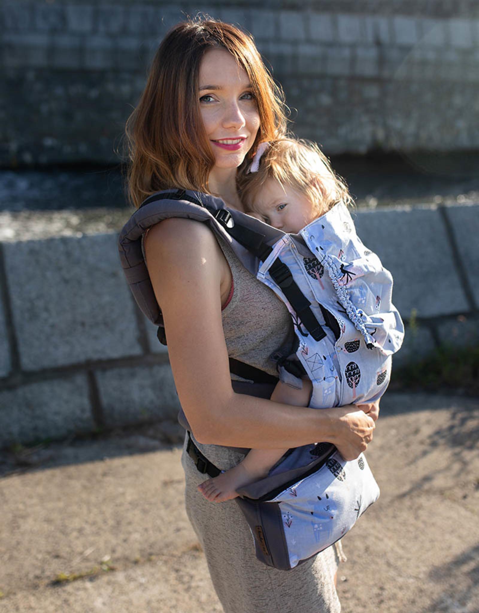 Kinderhop Baby Draagzak Grow Air Hertjes
