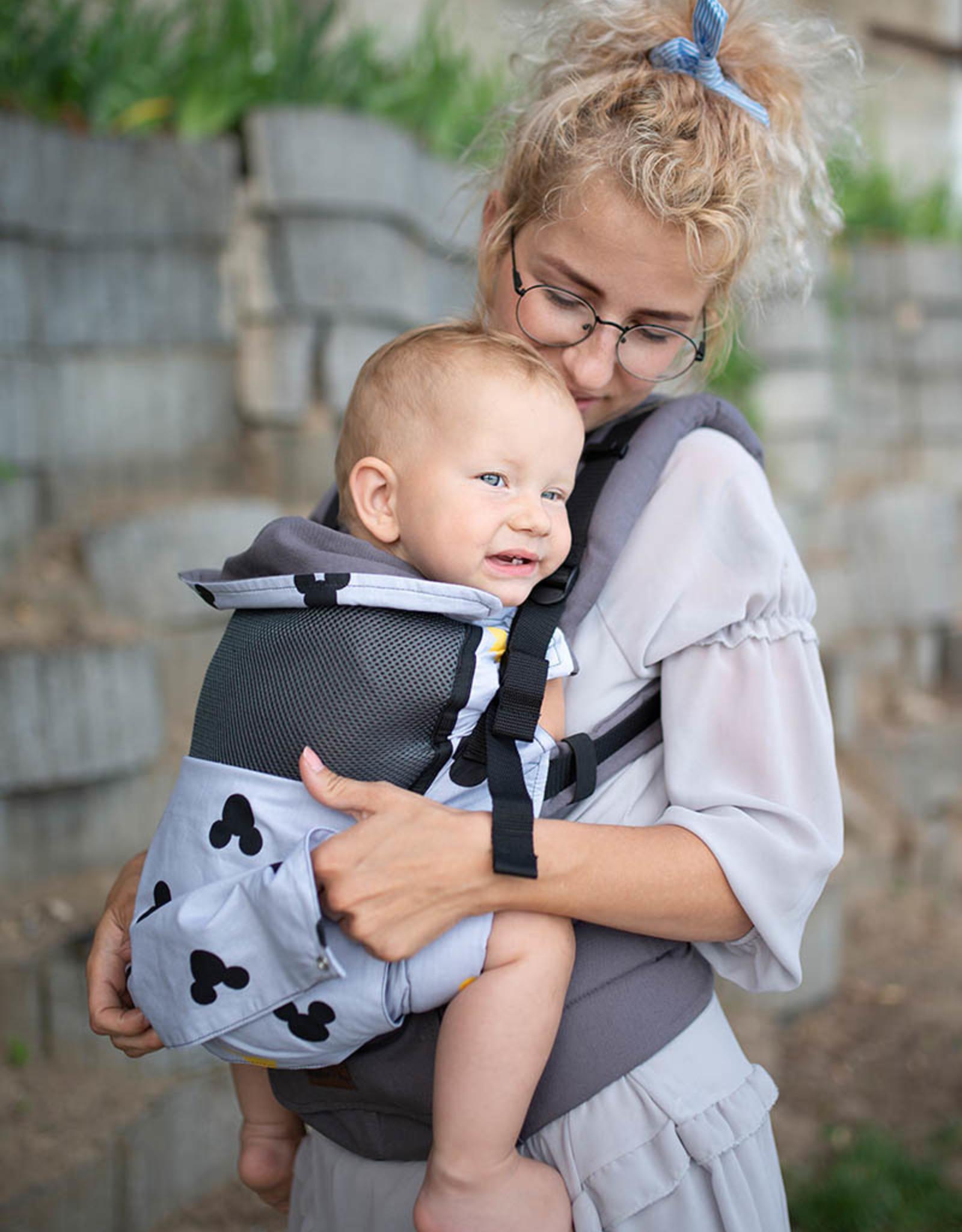 Kinderhop Baby Draagzak Grow Air Mickey