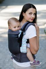 Kinderhop Baby Draagzak Grow Air Turquoise Zig Zag