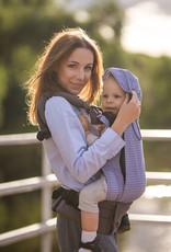 Kinderhop Baby Draagzak Grow Air Marine Zig Zag