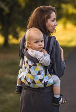 Kinderhop Baby Draagzak Grow Yellow Triangles