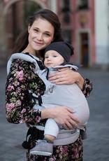 Kinderhop Baby Draagzak Multi Soft Little Herringbone Ecru
