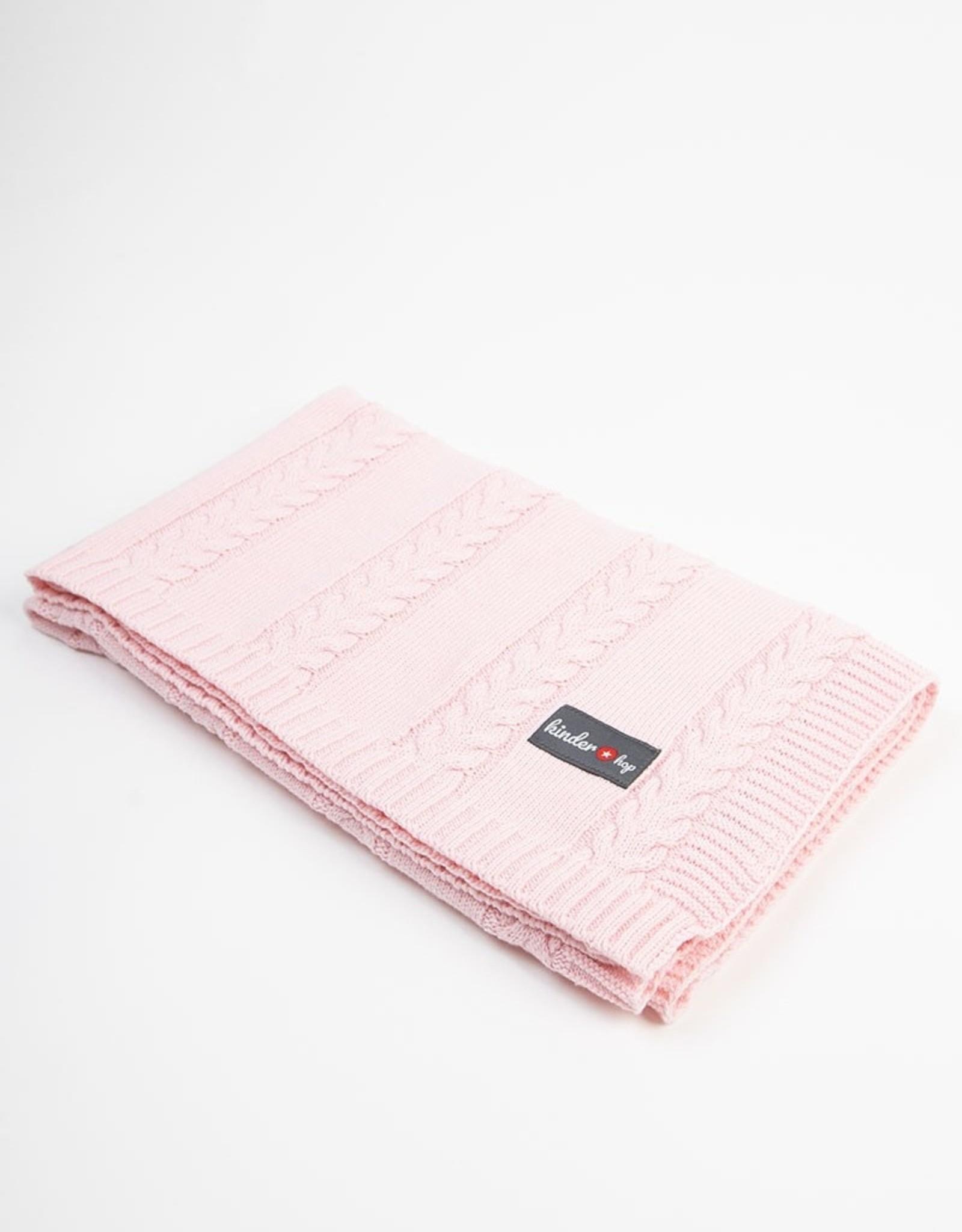 Babydeken Junior 90 X 65 Cm Katoen Pink