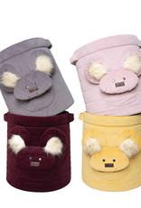 Kinderhop Speelgoedmandje - Opbergbox roze