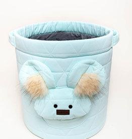 Kinderhop Speelgoedmandje - Opbergbox blauw