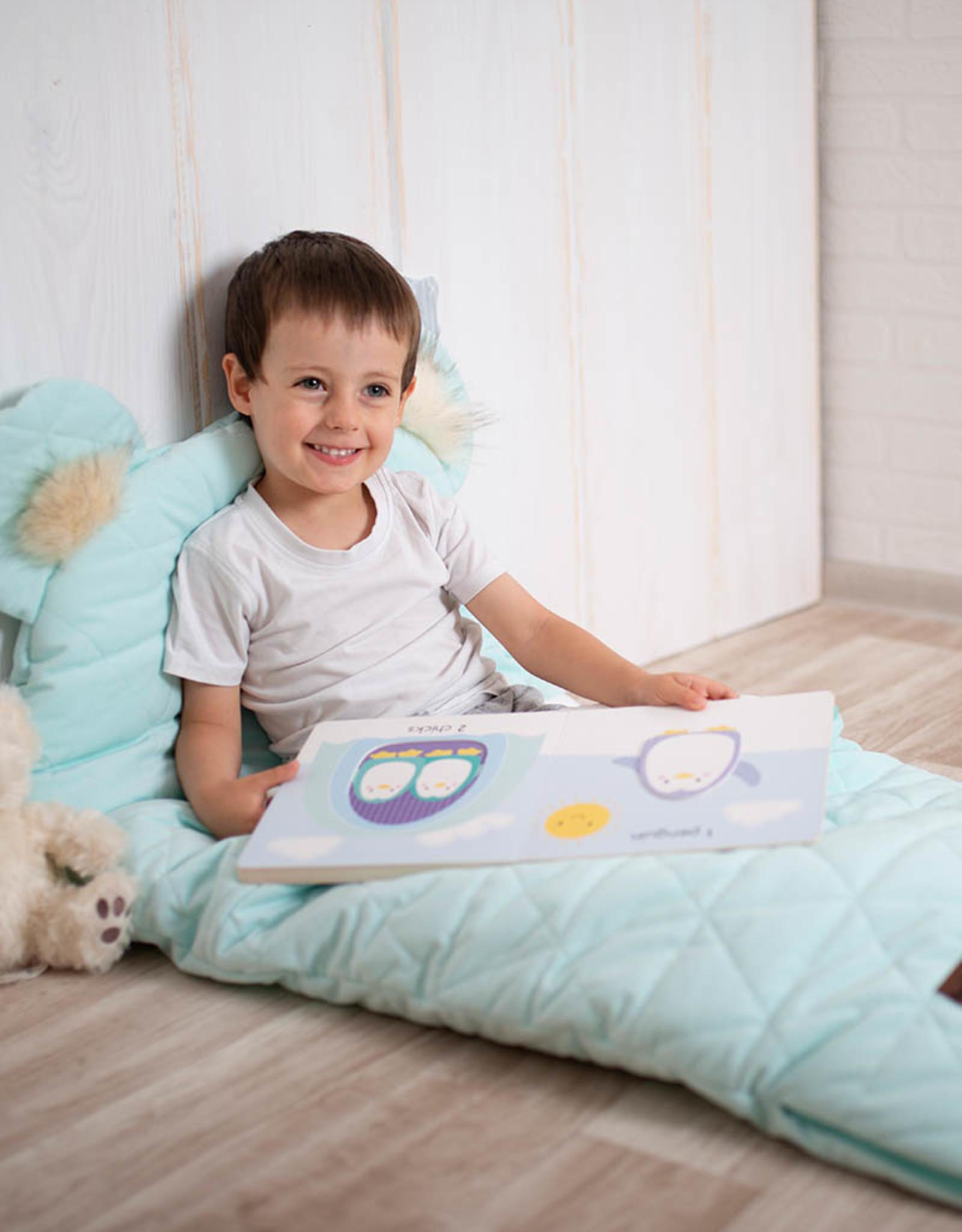 Kinderhop Dream Catcher Slaapzak aquamarine