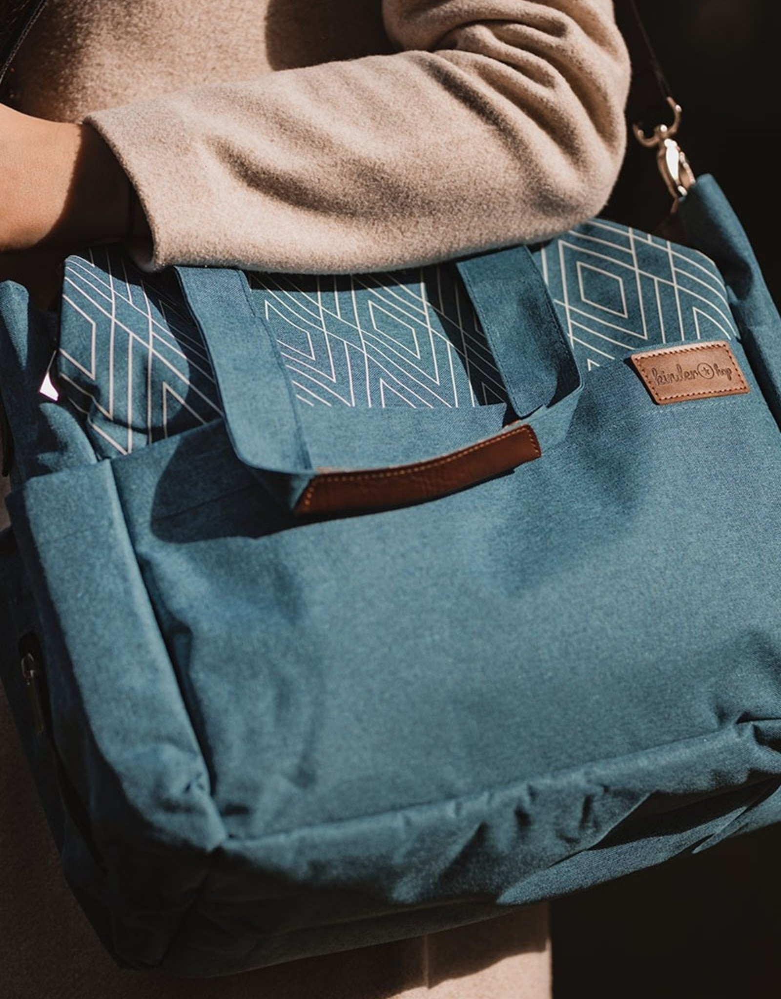 Luiertas Traveller 43 x 35 cm  Blauw