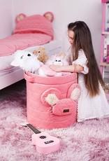 Kinderhop Speelgoedmandje - Opbergbox strawberry