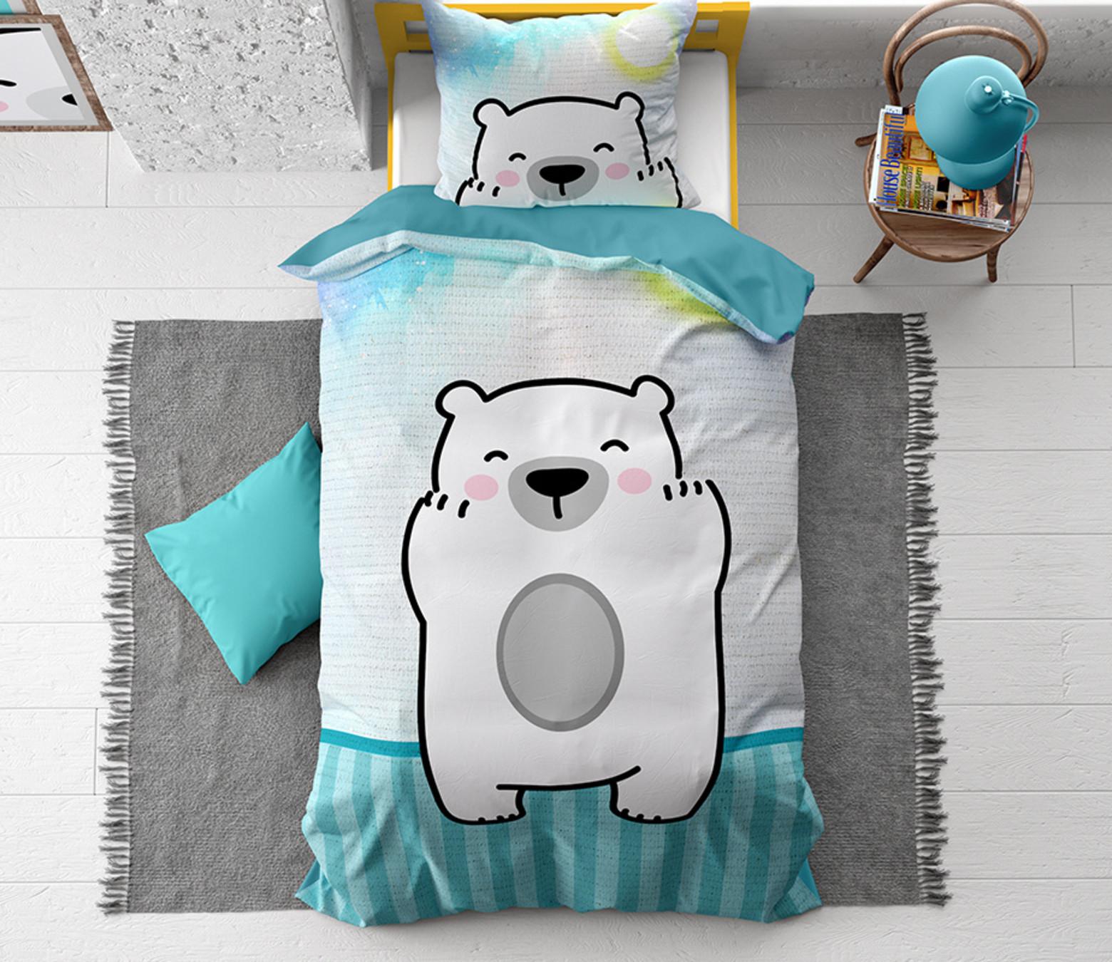 Cuddle bear blue