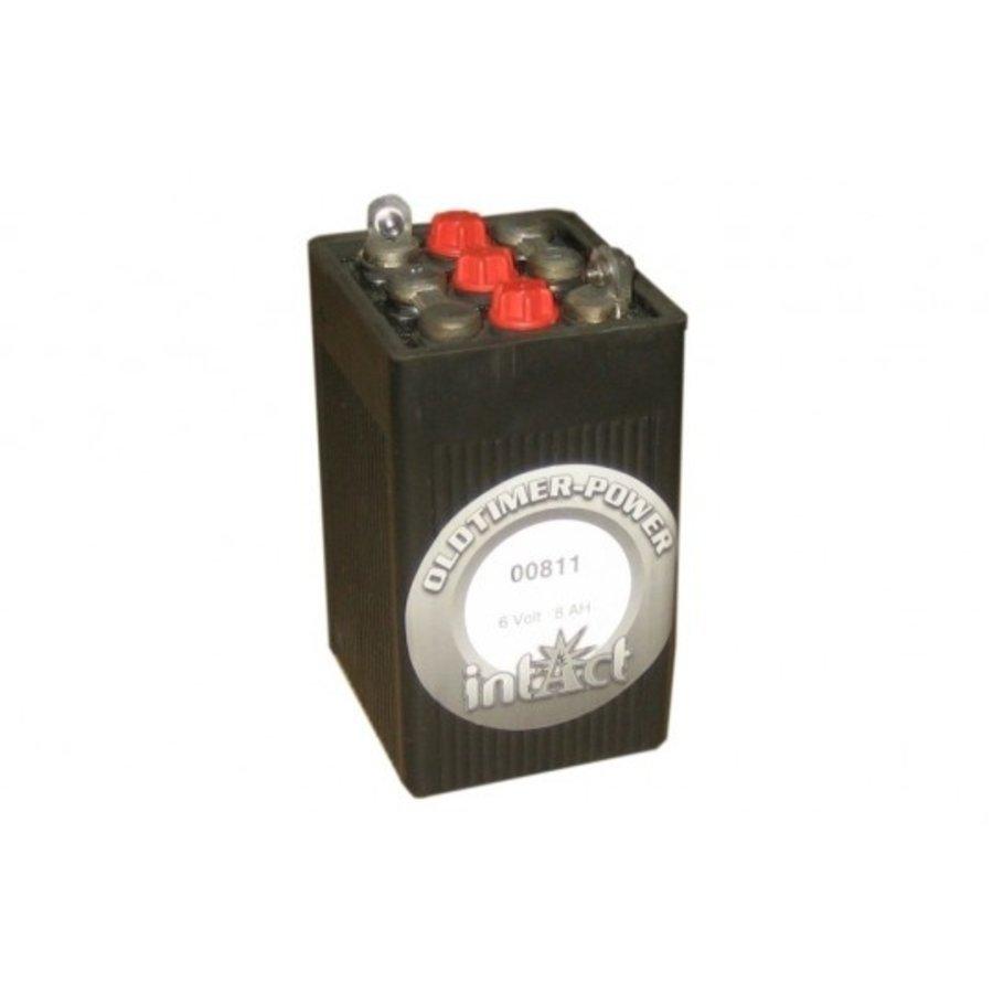 Intact Oldtimer-Power 6V 8Ah Oldtimer Accu-1
