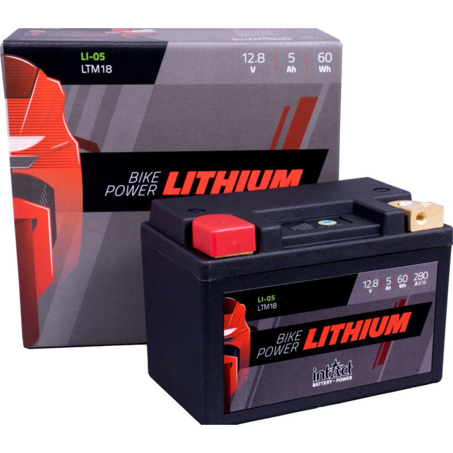 Intact Bike-Power Lithium 12V 5Ah(c10)-2