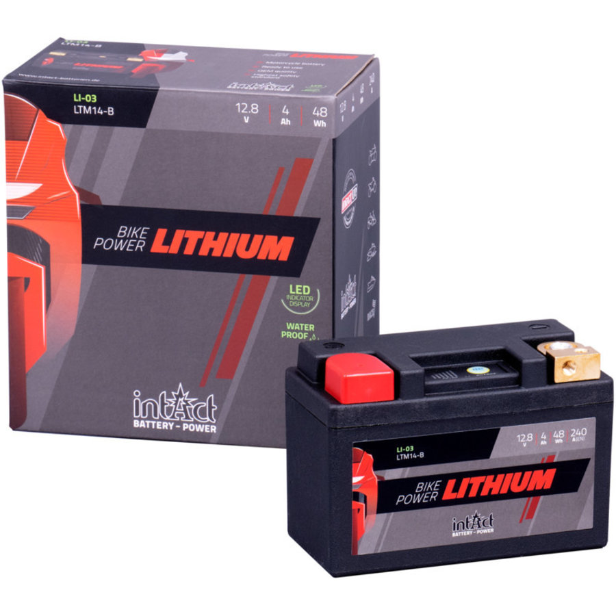 Intact Bike-Power Lithium 12V 4Ah(c10)-2