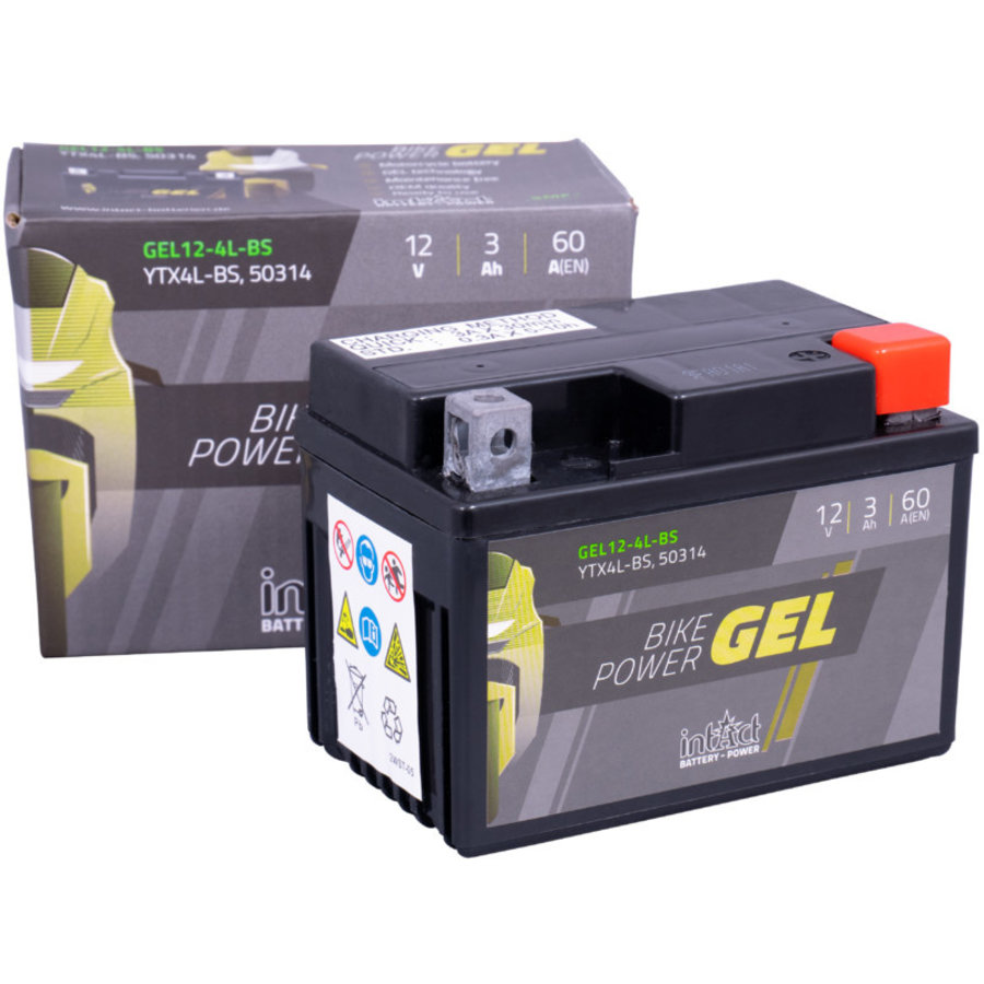 Intact Bike-Power GEL 12V 4Ah-2