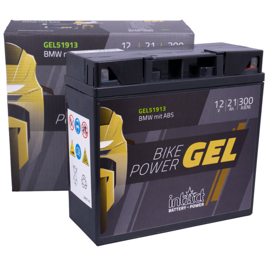 Intact Bike-Power GEL 12V 21Ah-2