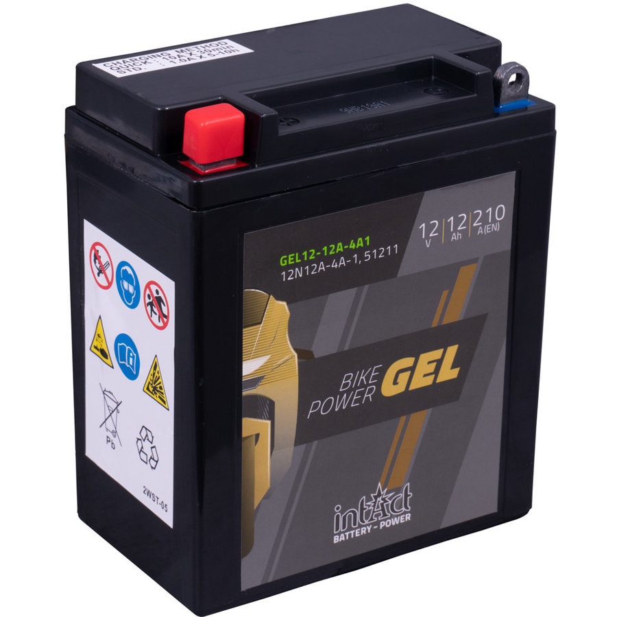 Intact Bike-Power GEL 12V 12Ah-1