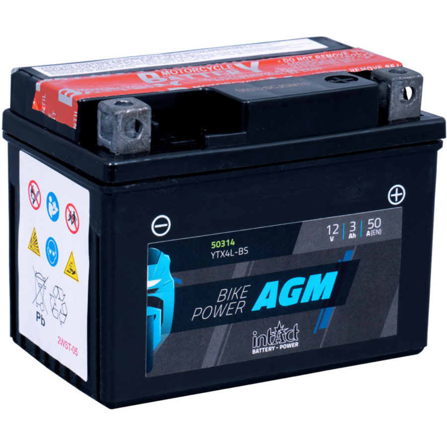 Intact Bike-Power AGM 12V 3Ah-1