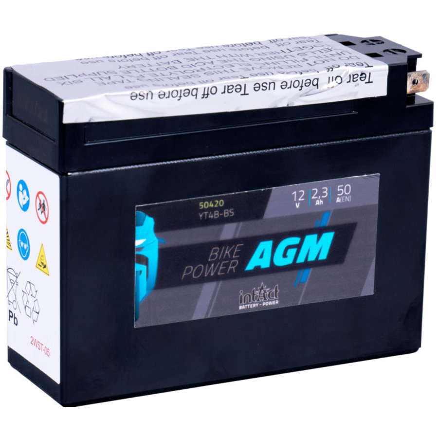 Intact Bike-Power AGM 12V 2,3Ah-1