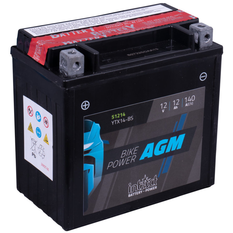 Intact Bike-Power AGM 12V 12Ah-1