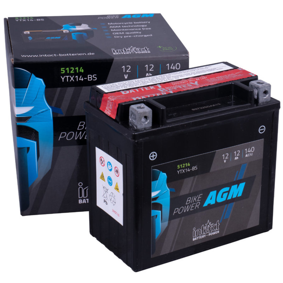 Intact Bike-Power AGM 12V 12Ah-2