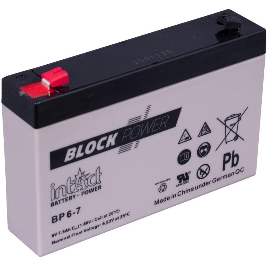 Intact Block-Power 6V 7Ah BP-1