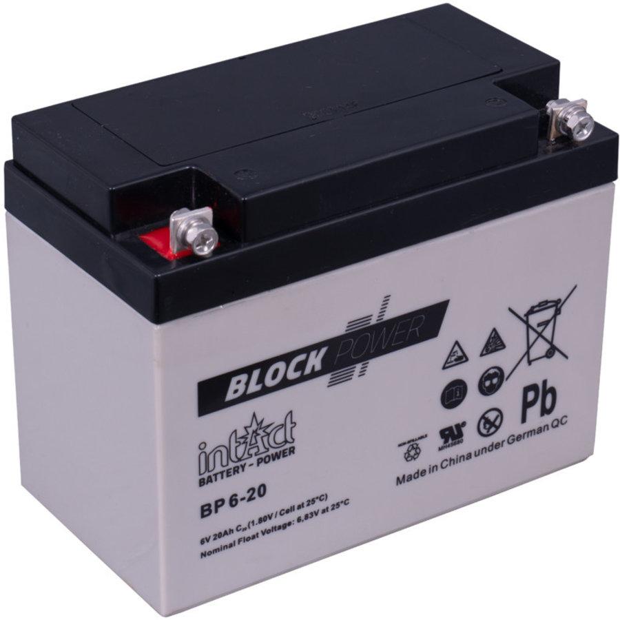 Intact Block-Power 6V 20Ah BP-1