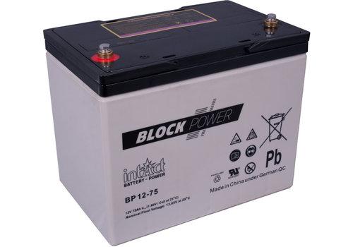 Intact Block-Power 12V 75Ah BP