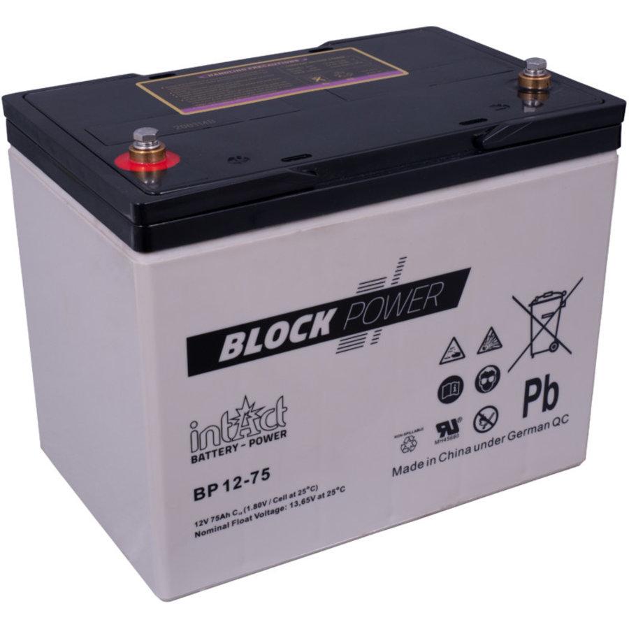 Intact Block-Power 12V 75Ah BP-1