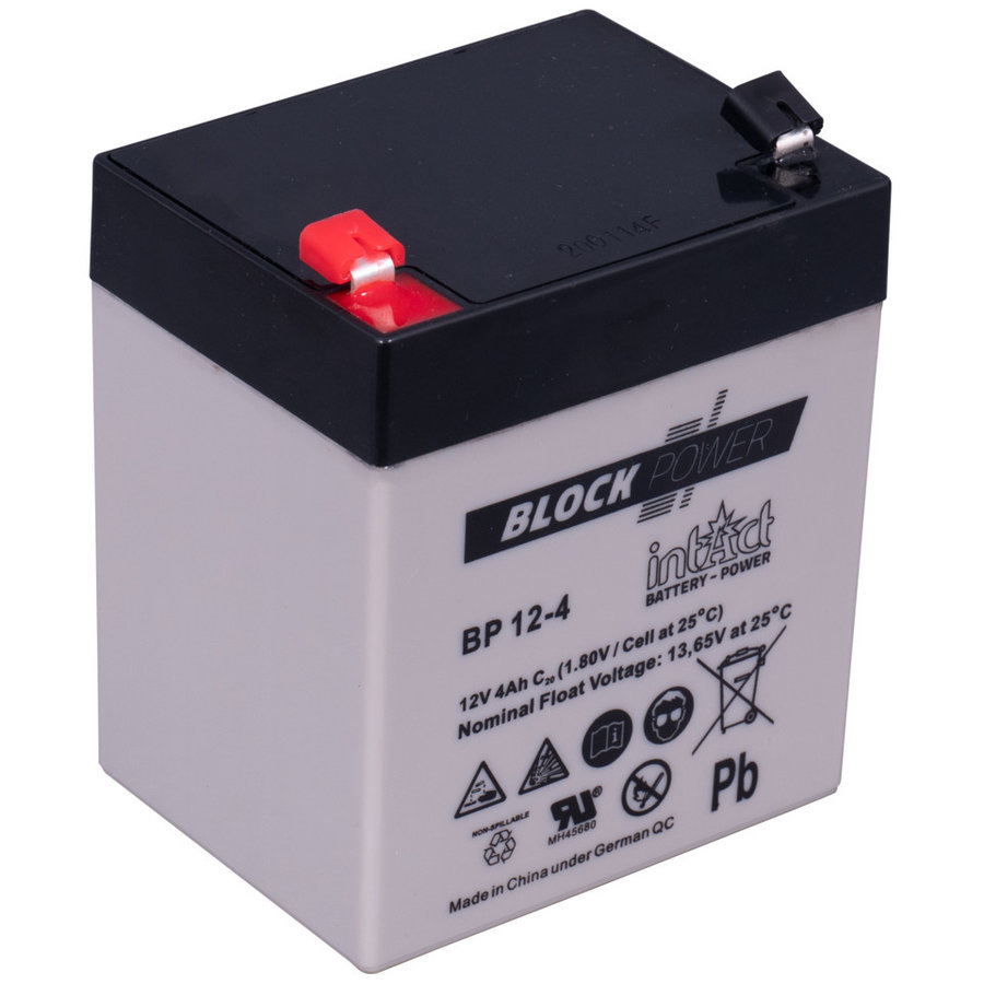 Intact Block-Power 12V 4Ah BP-1