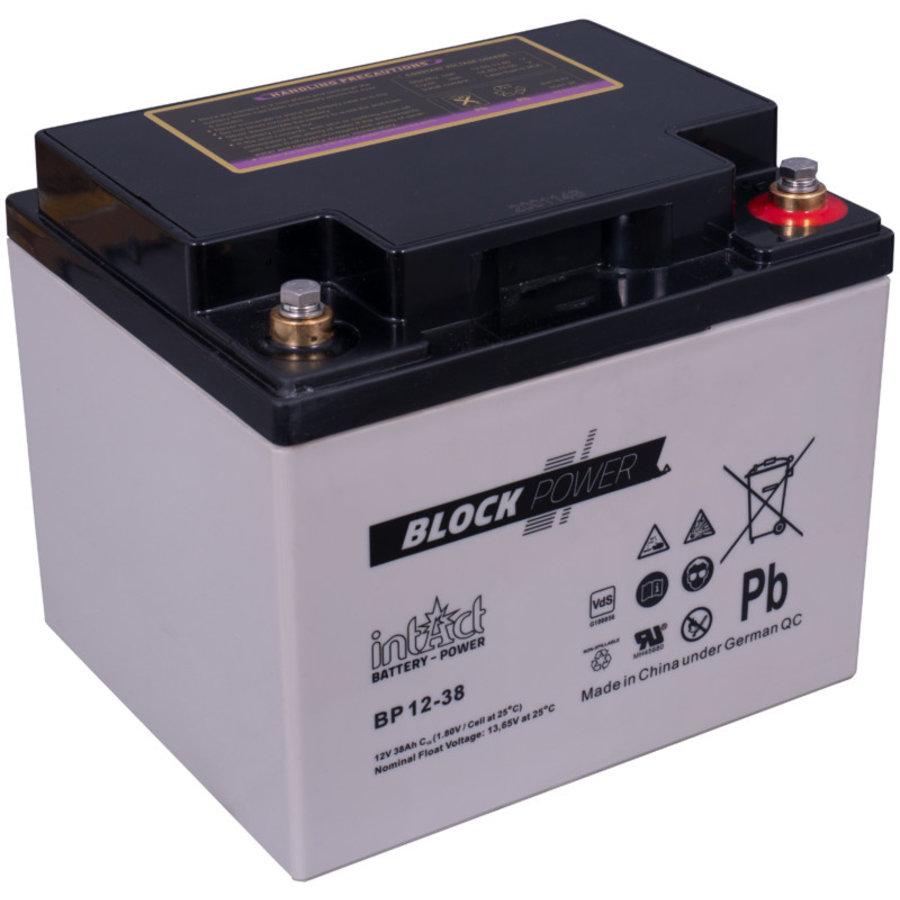Intact Block-Power 12V 38Ah BP-1