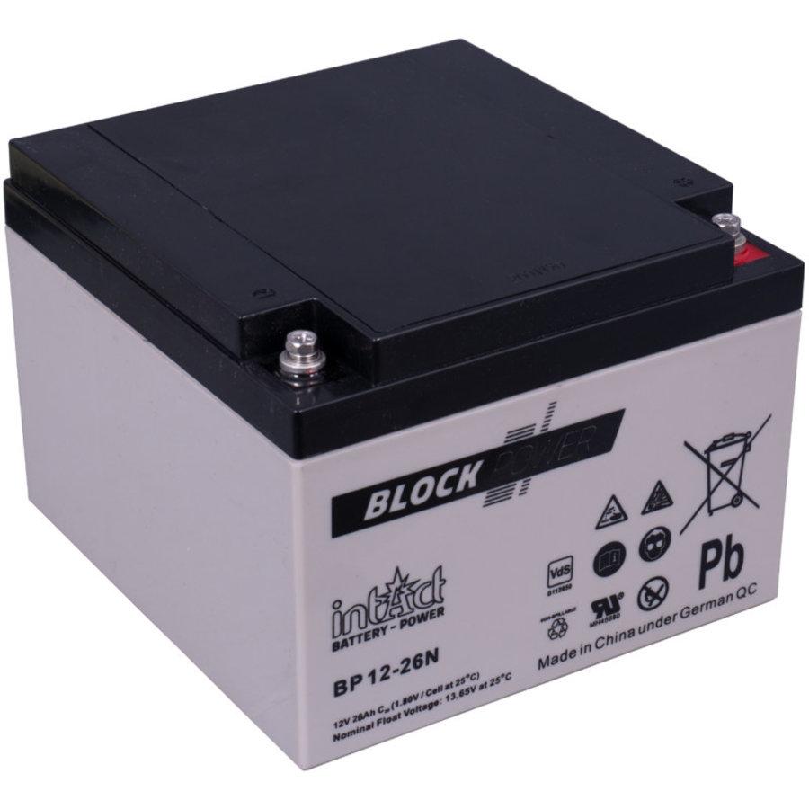 Intact Block-Power 12V 26Ah BP-1